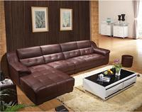 modern style living room Genuine leather sofa a1286