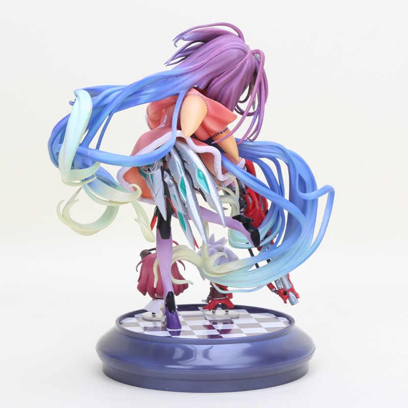 Anime life No Gioco No Life Shiro Dipinta scala 1/8 Gioco di Vita shiro Figura Zero figurine action PVC figure model toy