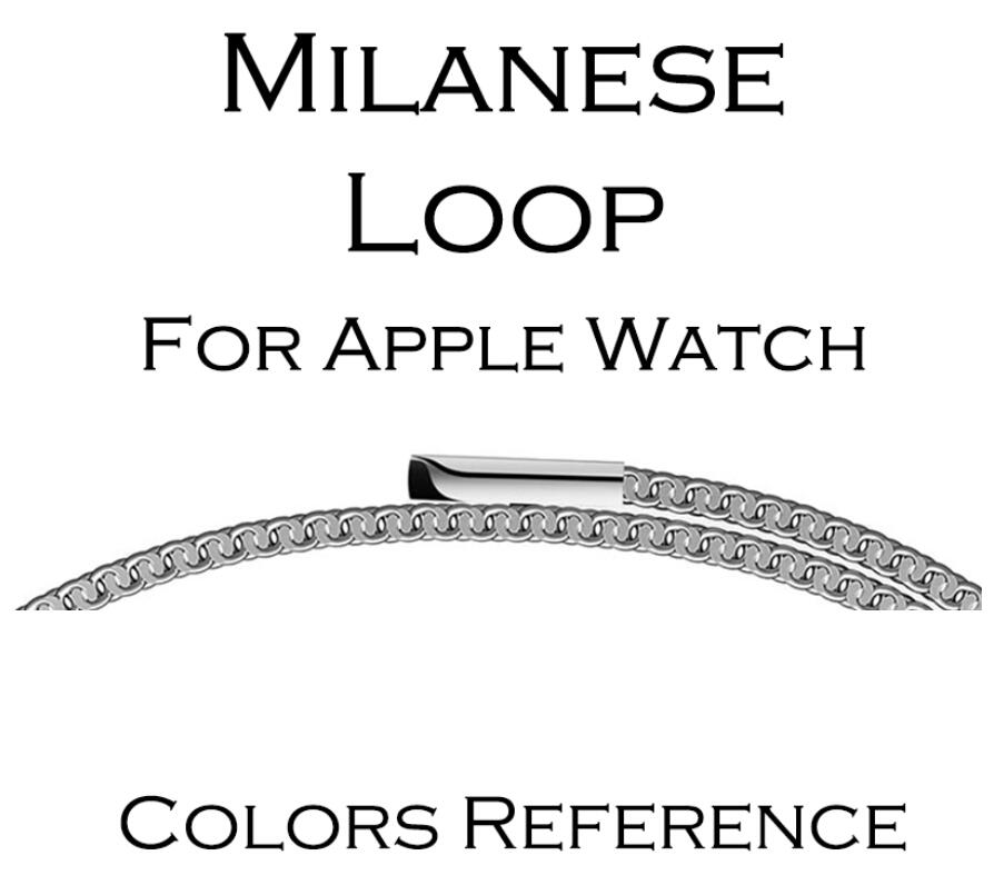 Milanese Loop Band for Apple watch 42mm 38mm Link Bracelet