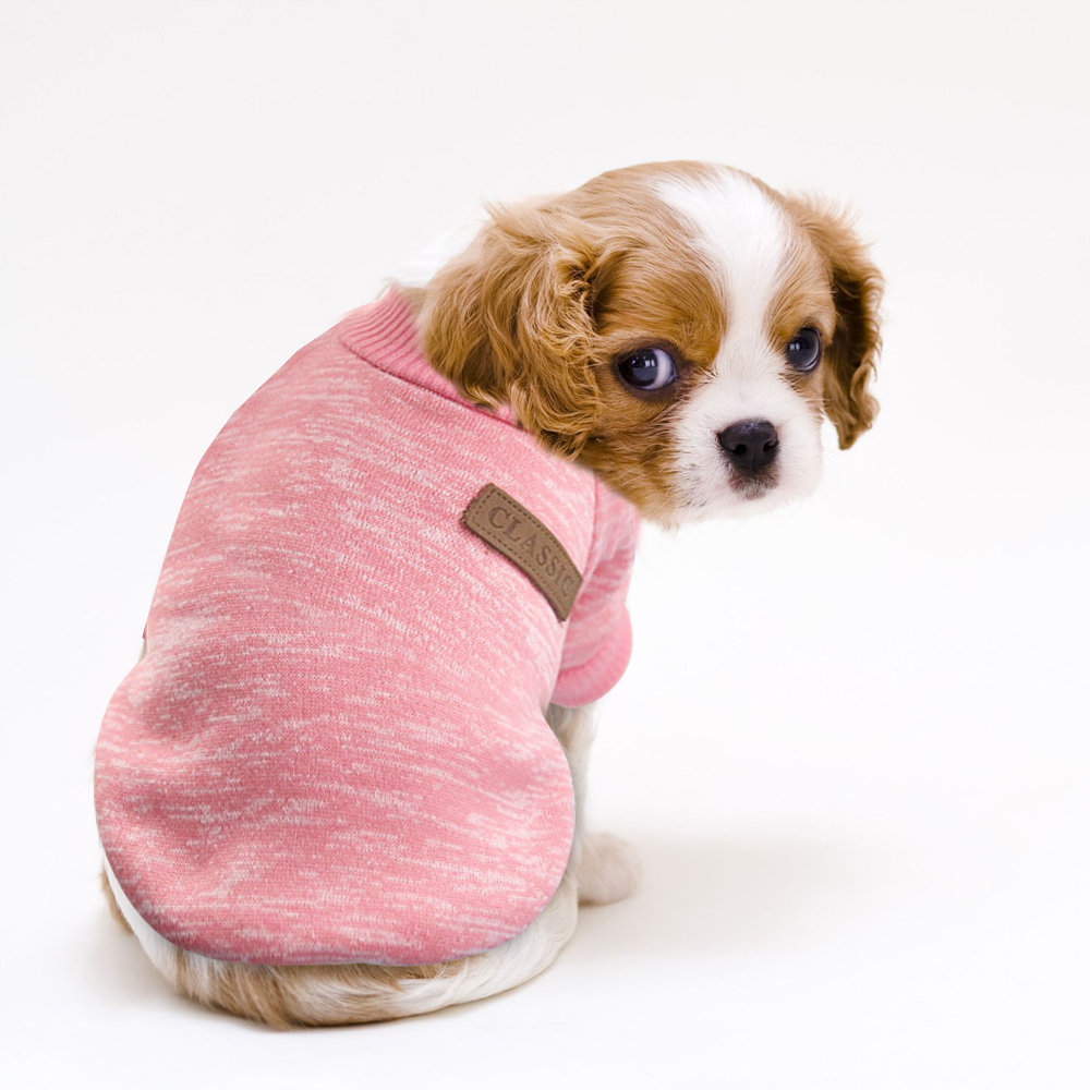 Warm Cat Sweater Clothing Autumn Winter Pet Dog Clothes For Small Dogs Cats Chihuahua Pug Yorkies Kitten Outfit Cat Coat Costume #6