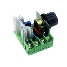Smart Electronics 220V 2000W Speed Controller SCR Voltage Regulator Dimming Dimmers Thermostat(China (Mainland))