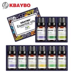 Aceites Esenciales de KBAYBO para difusores de aromaterapia lavanda árbol de té hierba de limón árbol de té aceite de naranja de Romero