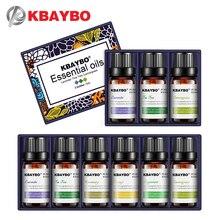 Эфирные масла KBAYBO для ароматерапии диффузоры Лаванда чай дерево Лемонграсс чай дерево розмарин апельсиновое масло