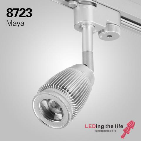 CREE COB LED Track light zoomable dimmable Spot light High CRI Ceiling down lamp for Museum art Gallery Catering lighting 3W dimmable led cob ceiling light 3w free shipping china post with track led lamp bulb led spotlight 110v 220v aluminum body