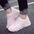Новые ботинки женщина плоская платформа женская обувь женская мода зашнуровать обувь дышащая теннис женщина для luxury zapatos mujer