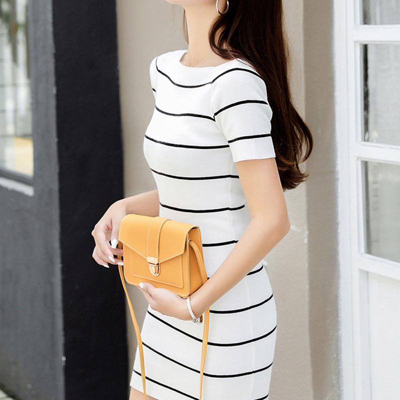 Fashion Small Crossbody Bags for Women 2019 Mini PU Leather Shoulder Messenger Bag for Girl Yellow Bolsas Ladies Phone Purse 11