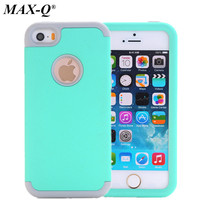 Nice Colorful Silicone Varnish 3 In 1 Heavy Duty Anti Shock Armor Hard Case Cover For