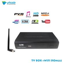DVB T2 M2  Terrestrial Receiver HD FTA Digital TV Tuner Receptor MPEG4 DVB-T2 H.264 Terrestrial TV Receiver DVB-T Tuner Free