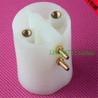 A0056 5 יחידות שיניים שיניים כיסוי פלסטיק לבן כובע בקבוק שקוף בקבוק מים מוצר יחידה כיסא שיניים ציוד דנטלי