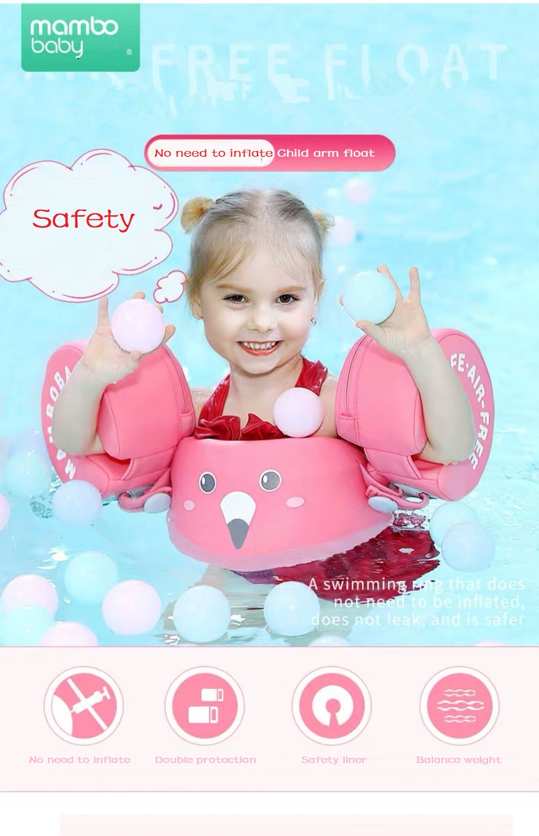 KIDS Baby Floats for Swimming Pool Infant Jacket Toddler Swim Vest with Arm Wing