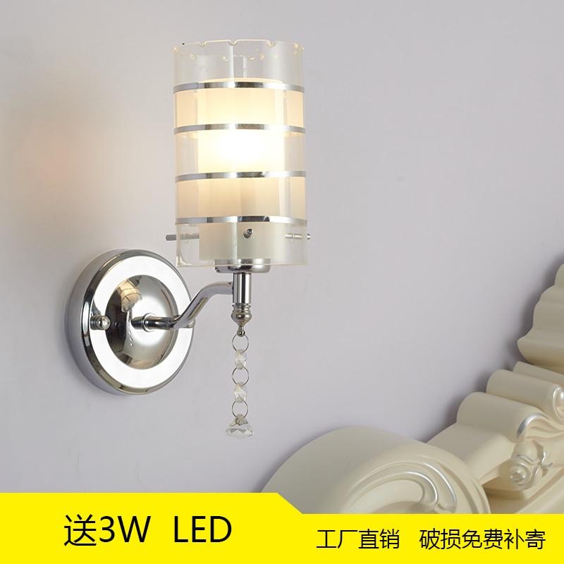 Предложение современный минималистский освещение для отелей Свет теплый прохода огни прикроватная лампа настенная лампа светодиодный специальное предложение