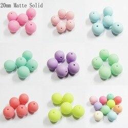 Newest 12mm 500pcs/bag ,20mm-105pcs/bag  Acrylic Matte Solid /Matting Effect Beads