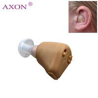 Mini War Aid For Hearing AXON K 88 Best Rechargeable Acousticon In Ear Hearing Aid Aids