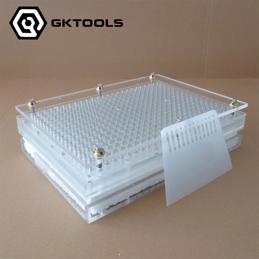 Capsule Filling Machine,400 Holes Semi-Automatic Capsule Filling Board With Tamping Tool Can Customize 00#,<font><b>0</b></font>#,1#,<font><b>2</b></font>#,<font><b>3</b></font>#,4#,<font><b>5</b></font># image