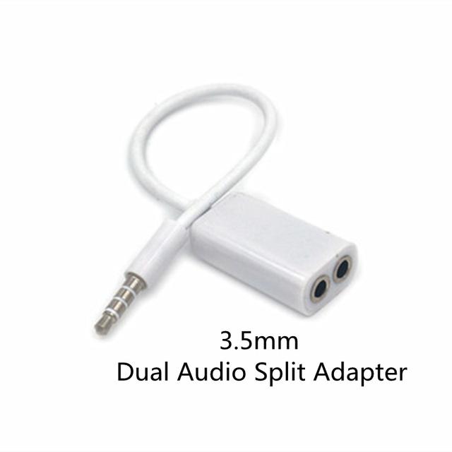 Earphones Jack Splitter Adapter