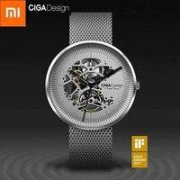 Xiaomi CIGA дизайн МОЯ Серия механические часы модные роскошные часы для мужчин для женщин iF дизайн золотой награды дизайнерский бренд