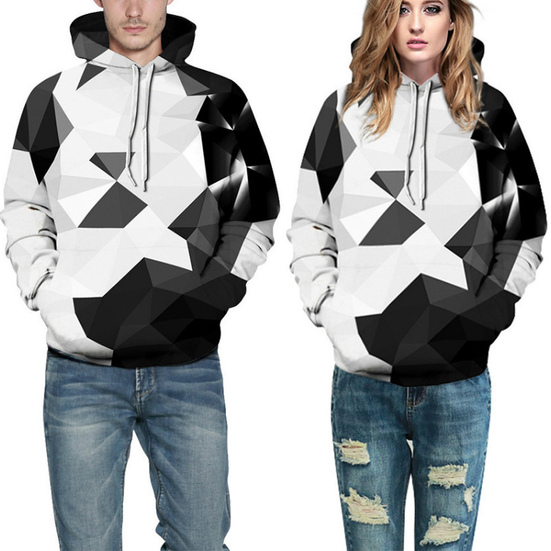 Black and white diamond digital printing, cap and guard clothes, large-size European and American baseball suits, lovers' suits