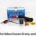 Câmera De Estacionamento Para Subaru Forester ª SJ 2013 ~ 2016/RCA AUX Fio Ou Sem Fio HD Visão Noturna Retrovisor Lente Grande Ang câmera