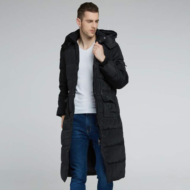 03f5ef5a1 Online Shop Thick Winter Jacket Hoodie Down Plus Size Men Warm ...