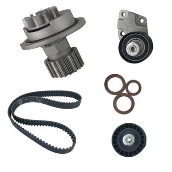 Timing Belt Kit Pompa Air Cocok Penguncian dan Penyesuaian Alat Alat Instalasi untuk Chevrolet Aveo 1.6L DOHC 2004-2008