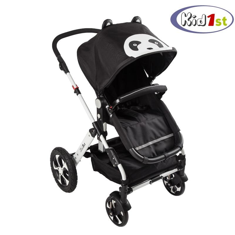 Cartoon baby stroller light portable trolley flagship platinum stroller four wheel Avoid vibration baby umbrella carts