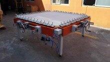 1500x 1200mm silk screen net machine, orm and wormwhcel Stretcher Machine