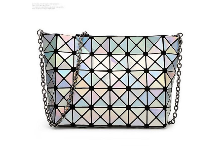 18 Famous Bao Bags Women Geometric Lingge Envelope Handbag Small Chain Clutch Ladies Shoulder Bags Messenger Bag Bao Bolsa 22