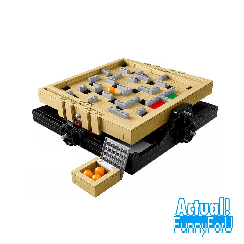 LELE Classic 39000 769PCS Marbles maze Building Blocks Bricks enlighten toys for children Birthday gifts brinquedos