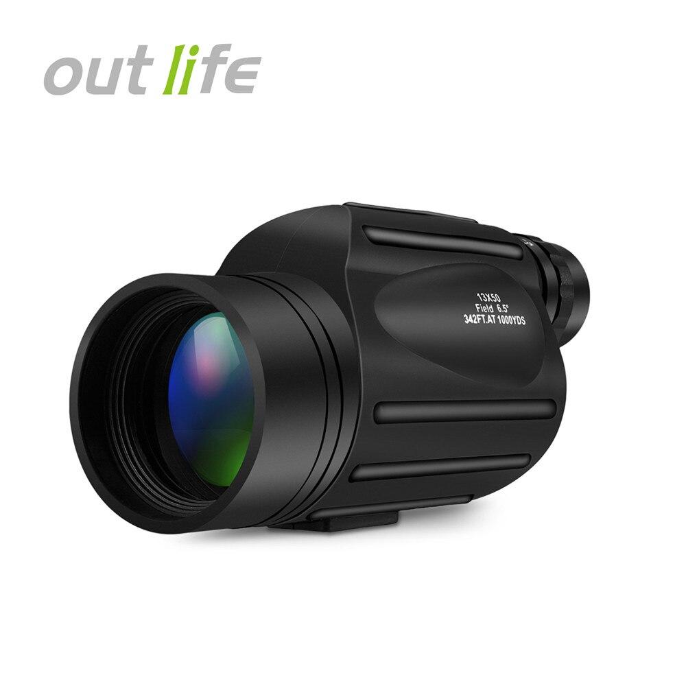 Outlife 13x50 Монокуляр телескоп Prism область