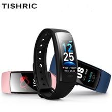 TISHRIC QS90 플러스 Smartband 스포츠 트래커 혈압 측정 방수 여자 남자 샤오미/화웨이/아이폰 7 스마트 팔찌