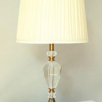 책상 테이블 램프 크리스탈 k9 홈 조명 장식 테이블 조명 전구 램프 현대 홈 장식 테이블 램프 침실 머리맡 램프 e27