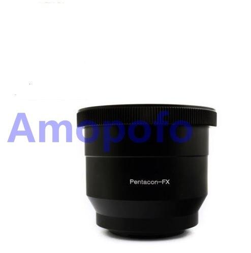 Amopofo P60-FX Adaptér Pentacon 6 Kiev 60 objektivů na Fujifilm X-Pro1 Fuji X-E1 FX kamera