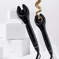 2017 Pro Titanium Automatic Hair Curles Curler ,Ceramic Wave Hair Magic Curling Irons Stick Hair Curlers Styling Tools Curly kemei straight curly hair stick 2in1 and does not damage the hair clip hair tools anion in maize curling irons styling tools