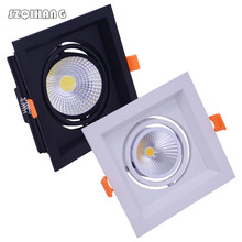 10W/20W/30W Dimmable LED COB ceiling light AC85 -265V indoor led lamp include driver white/warm white with CE,RoHS