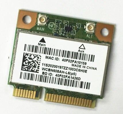 L'AESS NOUVEAU pour Atheros AR5B225 AR9485 moitié Mini PCI-E WIFI bluetooth 4.0 carte sans fil pour Lenovo G400 G400S G500 G405 m490