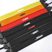 Colorful Photo Camera Strap Cotton Yard Pattern Neck Ethnic Style Strap DSLR Camera Shoulder Hand Strap For Canon Nikon Sony