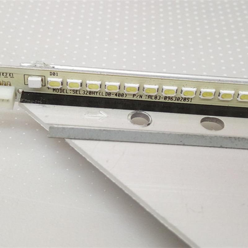 619 مللي متر LED الخلفية بار ل TCL L55F3700A D55A710 L55F2890A 55M80A قطاع 4C-LB5507-YH1 1 مجموعة = 11 قطعة