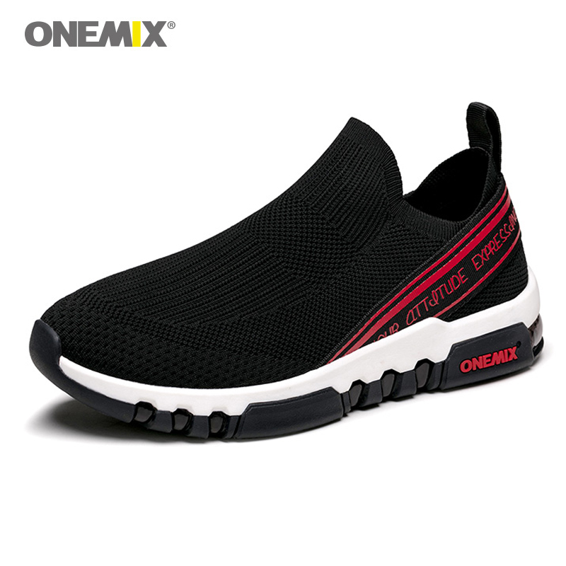 ONEMIX 2018 men running sneakers breathable mesh outdoor jogging shoes mens running shoes for women sports
