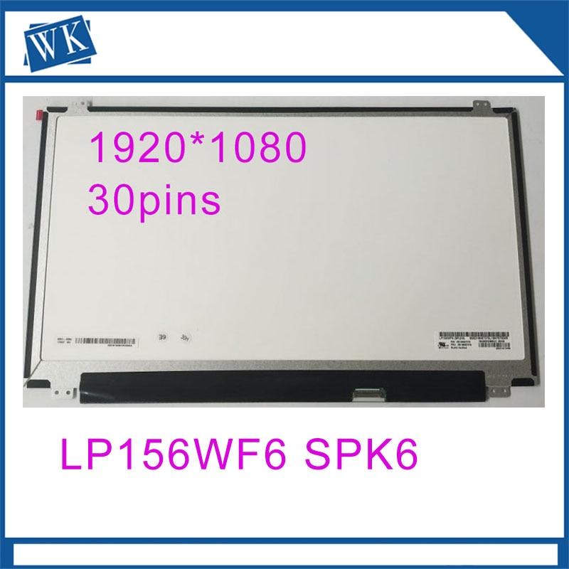 "1080P LP156WF9-SPK2 New 5D10M55963 FRU PN 15.6/"" FHD Matte IPS LP156WF9 SP K2"