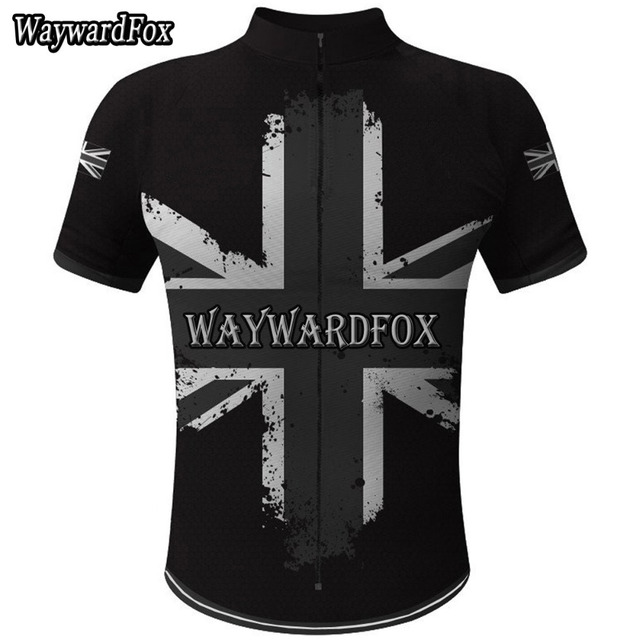 021760227 NEW cycling jersey uk Flag National ENGLISH pro team clothing Great Britain  bicycle exercise wear ropa cycling Wear WaywardFox