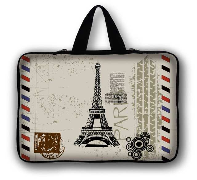 994bb0c226a0 US $9.84 21% OFF|14 14.4 Paris Eiffel Tower Computer Laptop Sleeve Bag  Notebook Case for Men Women For Dell Vostro Acer Asus Toshiba HP-in Laptop  Bags ...