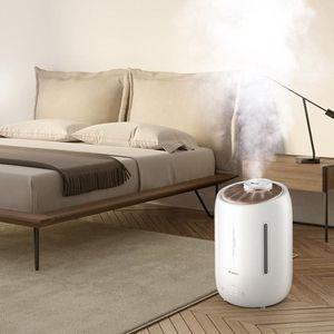 Image 5 - Deerma 5L ev ultrasonik nemlendirici dokunmatik sürümü hava temizleme için klimalı odalar ofis ev D5