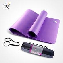 Non-slip 183cm Yoga Mat 10mm Beginner Fitness Euipment Sports Yoga Pilates Exercise Mat NBR Training Workout Fitness Gym Mat стоимость