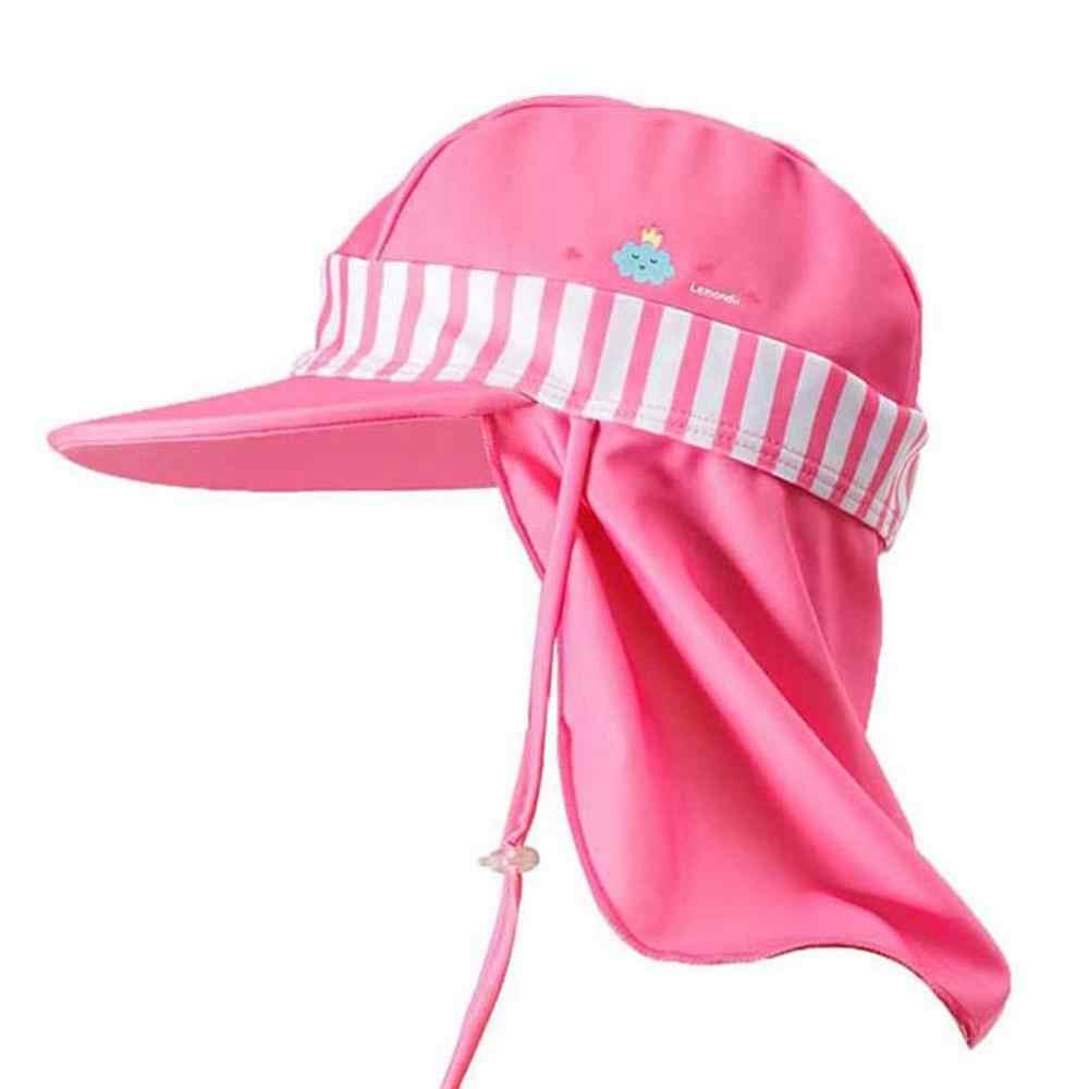 Бесплатная доставка плавательные колпачки закрылков детей зонтик защита от ветра, УФ излучения шеи крышка приморский пляж Аксессуары для спортивной одежды, новинка
