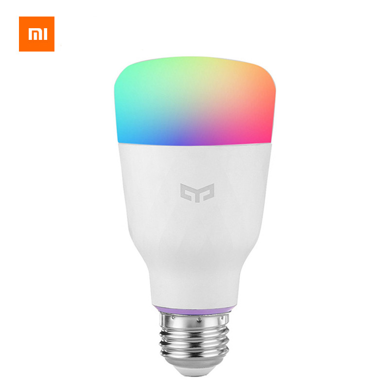 Security & Protection english Version Xiaomi Yeelight Smart Led Bulb Colorful English Version 800 Lumens 10w E27 Lemon Smart Lamp For Mi Home App