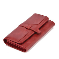 EASTNIGHTS Genuine Leather Women Wallets Luxury Brand 2017 New Design High Quality Fashion Girls Purse Card Holder TW2645