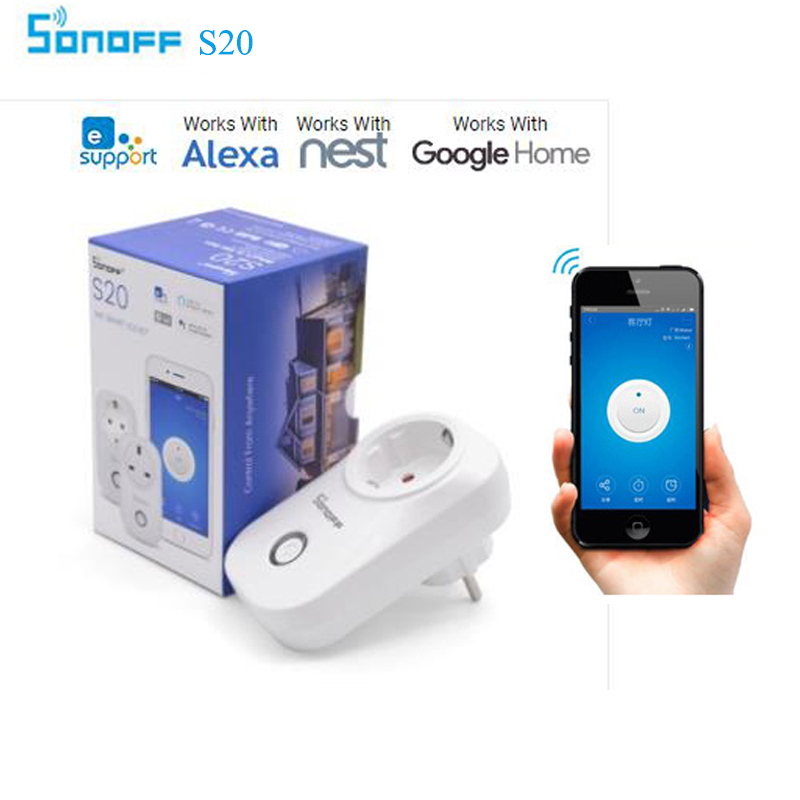 Sonoff Basic Wifi Switch,Diy Smart Home Automation Module