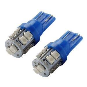 Image 3 - 20 PCS Super Bright Blu 12V Led Blulbs Per Le Auto del Cuneo 10 SMD Cupola Mappa Cargo Interni Luce lampada di Segnalazione accessori Per auto