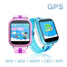 GPS Smart Watch Q750 Q100 детские часы 1.54 дюймовый сенсорный экран с Wi-Fi SOS вызова расположение устройства трекер для малыша безопасный PKQ60 q80 Q90