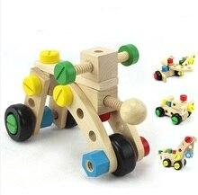 DIY 3D Wooden Puzzle